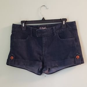 Anlo Mercer Denim Bella Wash Shorts Style HS7005